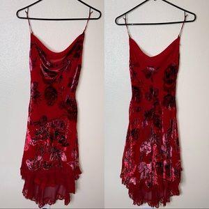 Betsey Johnson Velvet Lace Dress